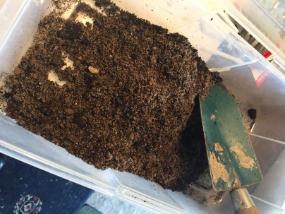 mixture, sand, earth, peat